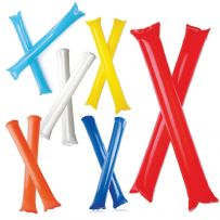 Pack of Two Inflatable Cheering Sticks